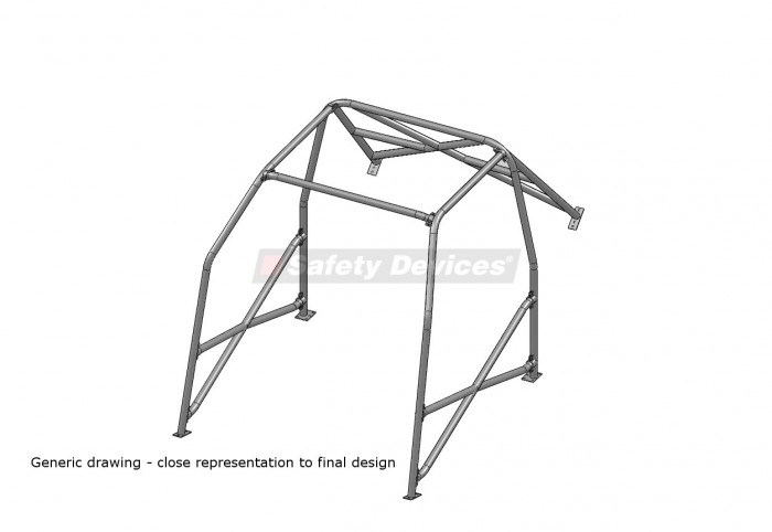 safety devices roll cage  rbb023