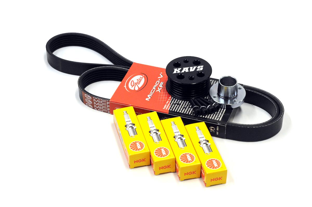 KAVS R53 MINI Cooper S Reduced Supercharger Pulley Upgrade Kit (KAVS-SC) -  Orranje Performance: MINI Performance Parts, MINI Tuning, MINI Styling