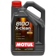 Motul 5ltr 8100 X-Clean 5W30 Fully Synthetic Engine Oil