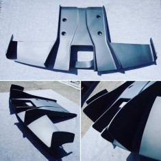 LEAP Tau R53 MINI Rear Diffuser