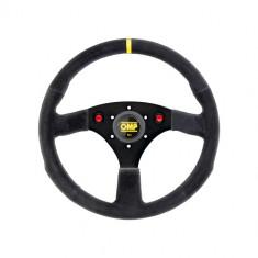 OMP 320mm Alu SP Steering Wheel - Black Suede