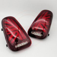 Orranje Union Jack Tail Lights R50 R52 R53