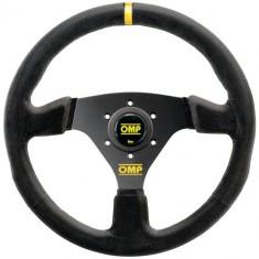 OMP 330mm Targa Steering Wheel - Black Suede