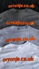 Orranje Logo & Address - Long Sleeve T-Shirt