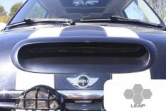 LEAP Omicron R53 MINI Larger Bonnet Scoop