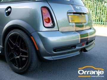 Orranje GP Style Rear Bumper Inserts R53