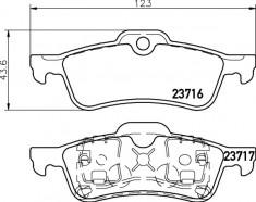 Mintex R53 Rear Brake Pads - MDB2163
