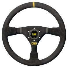 OMP 350mm WRC Steering Wheel - Black Suede