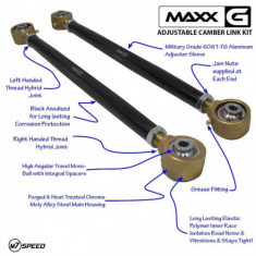 M7 MAXX-G Adjustable Rear Control Arms MINI Cooper R53 R56 R60