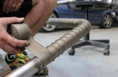 Funk Motorsport Titanium Exhaust Wrap
