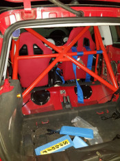 JP Cages MINI R53 Half Roll Cage