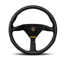 MOMO 350mm MOD.78 Steering Wheel - Black Leather