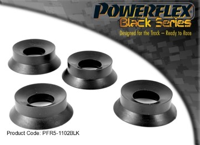 Powerflex Rear Trailing Arm Front Bush Inserts R53 60mm (Black Series)