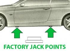 Burger Motorsports MINI Cooper S R53 R56 F56 Floor Jack Pad