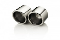 Akrapovic 2nd Gen Tail pipe set (Titanium, fits on stock)
