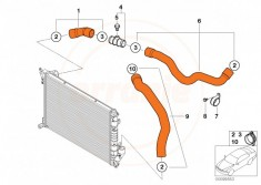 Pro Hoses Silicone R53 Radiator Coolant Hoses