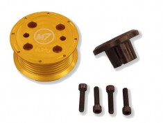 M7 16% R53 MINI Cooper S Reduced Supercharger Pulley Upgrade Kit