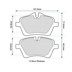 PBS ProRace Front Brake Pads R56 S / R53 JCW 8471PR