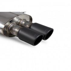Scorpion Exhausts Catback System Black Ceramic Monaco - Resonated MINI R56 R57 R58 R59 Cooper S