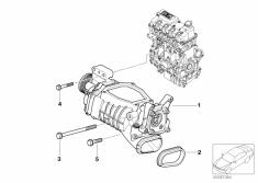 MINI R53 JCW Eaton M45 Supercharger
