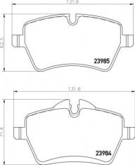 Mintex R56 S Front Brake Pads - MDB2816