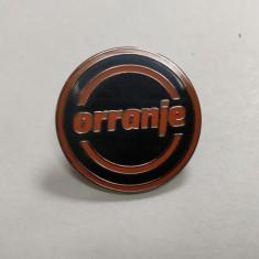 Orranje Logo Enamel Pin Badge
