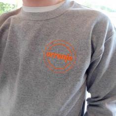 Orranje Logo - Sweatshirt Jumper