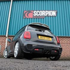 Scorpion Exhausts Downpipe De-Cat Pipe F56 Non-GPF 2013-2018