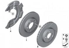 MINI R56 JCW Brembo Brake Discs