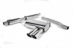 Milltek Exhausts Catback System Polished Tips Twin 90mm GT90 - Resonated MINI F56 Non-GPF Cooper