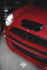 LEAP Omicron 2 R53 MINI Larger Bonnet Scoop