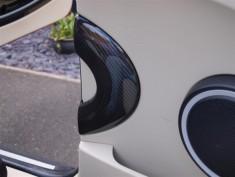 Orranje Carbon Fibre R56 Door Surround (Rear)