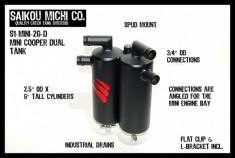 Saikou Michi Dual Oil Catch Can R55 R56 R57 R58 R59