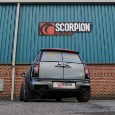Scorpion Exhausts Catback System Polished 101mm Daytona - Non-Resonated MINI R55 Clubman Cooper S
