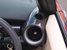 Orranje Carbon Fibre R56 Dash Vents (Pair)
